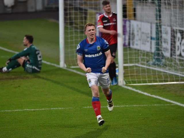 Shayne Lavery wants to end the season in style with Linfield