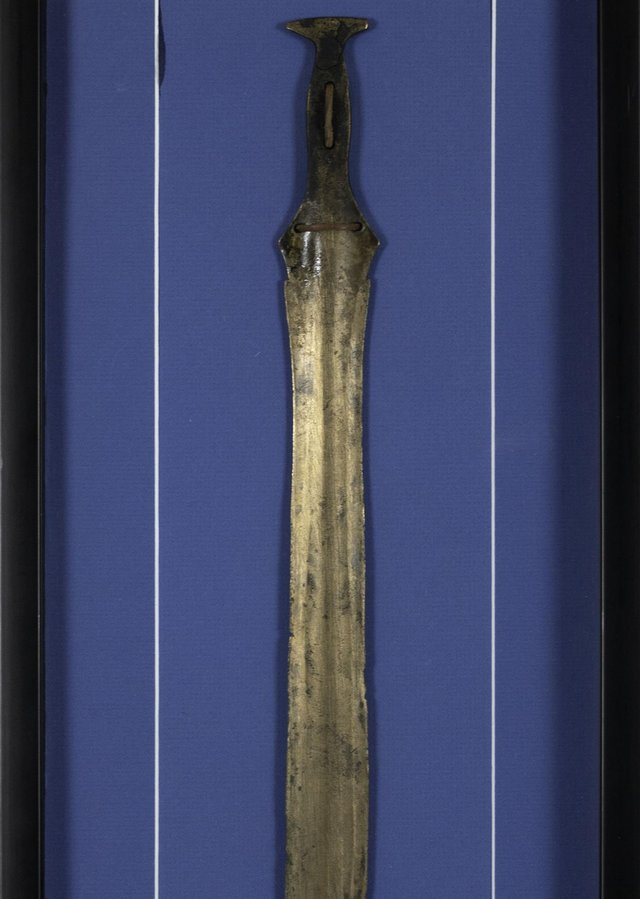 The sword was bought for £7,500