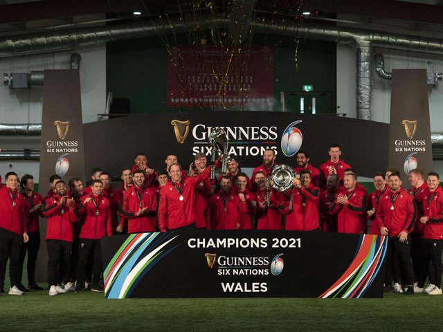 Wales were crowned 2021 Six Nations champions