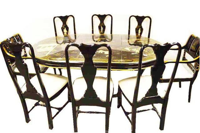 The sale includes some fine furnishings including tables and chairs