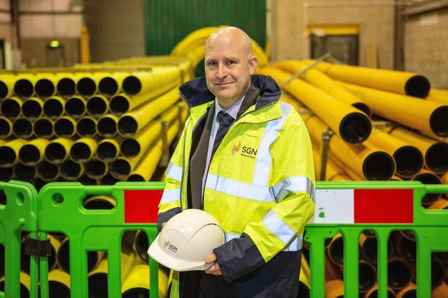 David Butler, Director of SGN Natural Gas and 'Engineer of the Year' in the Gas Industry Awards 2021