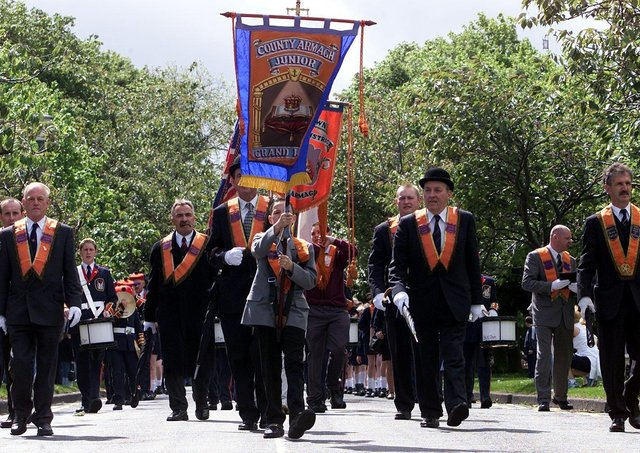 A previous Junior Orange Order parade through Bangor on Saturday.Picture by Brian Little