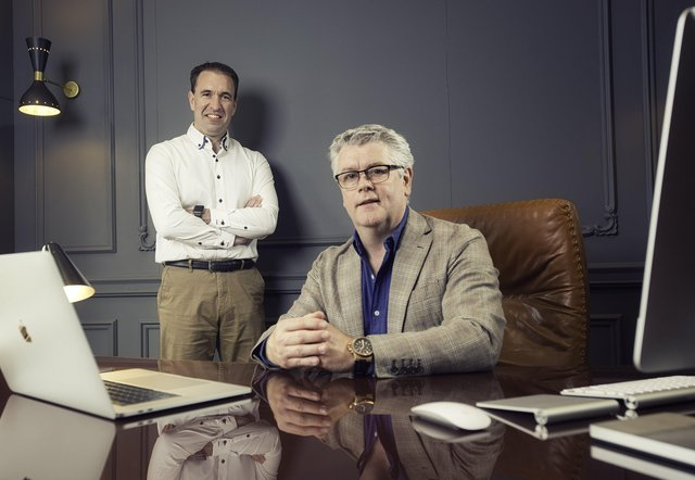 PeopleHawk co-founders, chief technical officer Alistair Craig and chief executive officer Paul Kinney