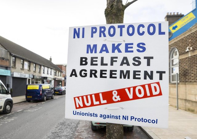 The Northern Ireland Protocol has caused great tensions among unionists and loyalists.