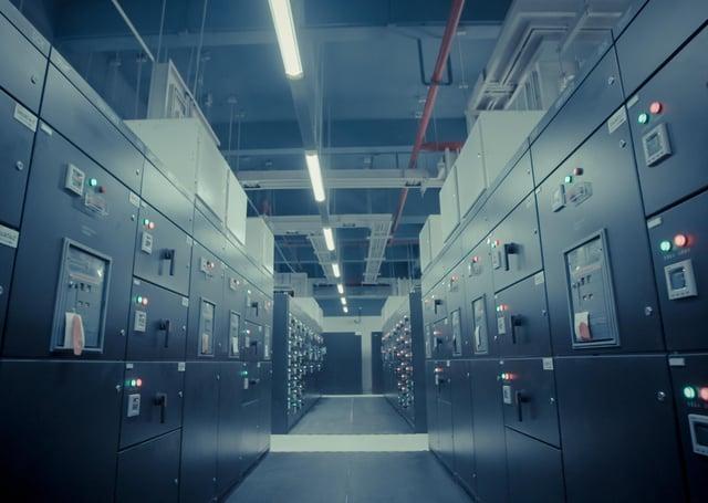 Data centre (stock image).