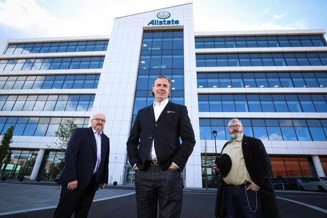 Director of Identity and Access Management at Allstate NI Dr Robert McCausland, Vice President and Deputy Chief Information Security Officer at Allstate NI Keith Lippert and Deputy CISO Analytics Team Manager at Allstate NI Robert Chapple