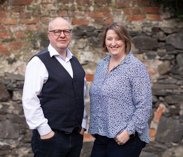 Dale Cree 3EN CEO and Alison Cree 3EN Operations Director