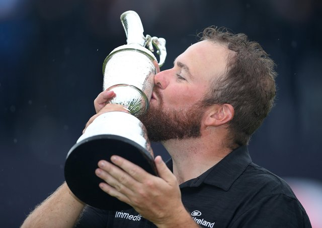 Reigning Open champion Shane Lowry won the Claret Jug in 2019 at Royal Portrush Golf Club