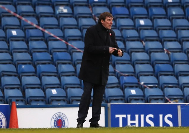 Kilmarnock manager Tommy Wright.