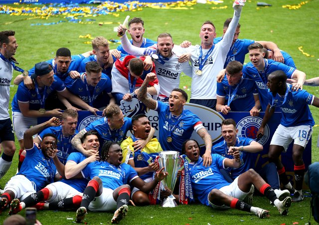 Success on the pitch has helped Rangers strengthen their financial situation.