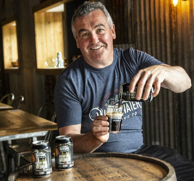 Bernard Sloan, founder and managing director of Whitewater Brewery in Castlewellan