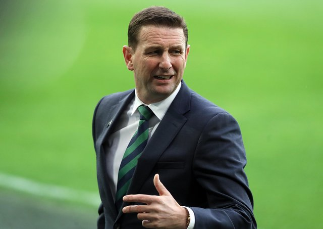 Northern Ireland manager Ian Baraclough.