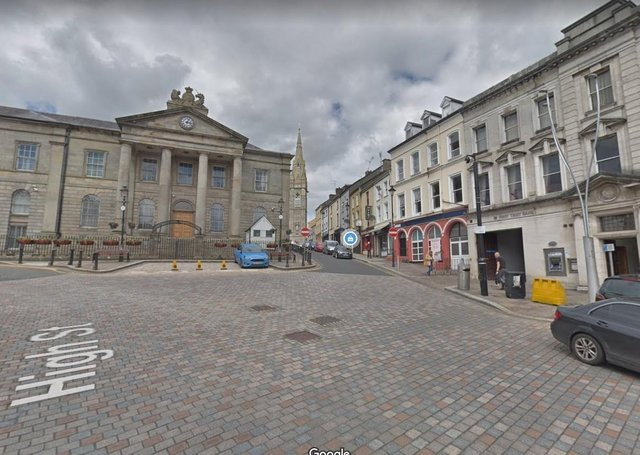 Omagh Courthouse. Picture: Google