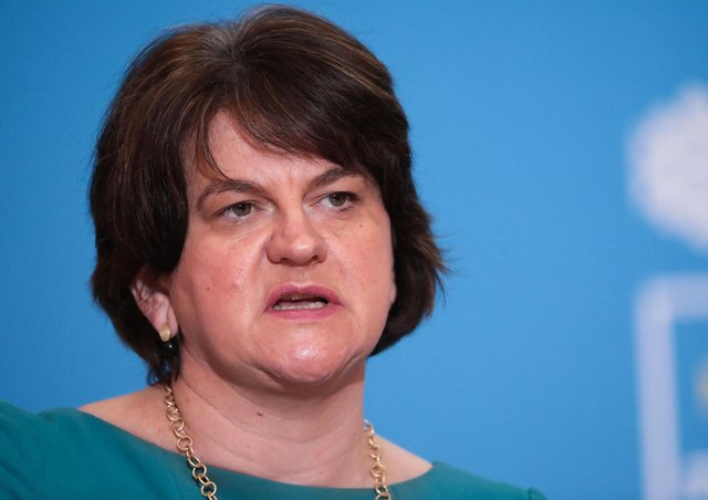 The DUP is still split over whether Arlene Foster should have been removed