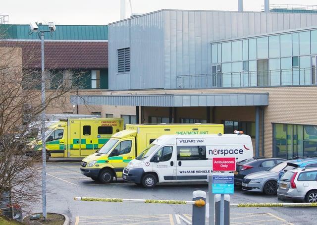Antrim Area Hospital. Picture by Jonathan Porter/PressEye