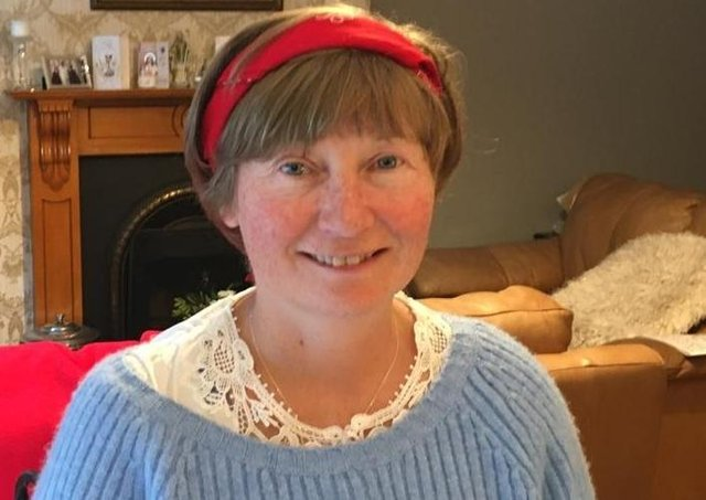 Martina Purdy is now leading pilgrims along St Patrick's Way