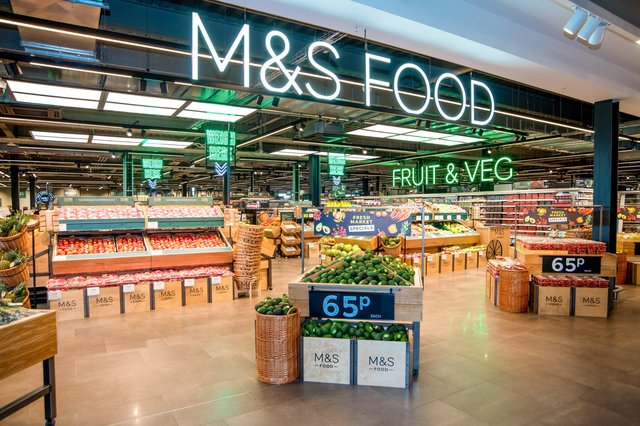 Marks & Spencer has unveiled its transformed Lisburn Foodhall at Sprucefield Shopping Complex