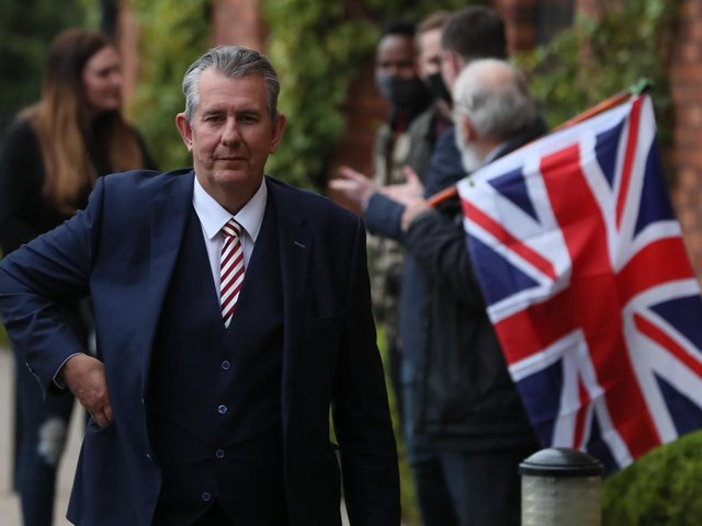 New DUP leader, Edwin Poots.