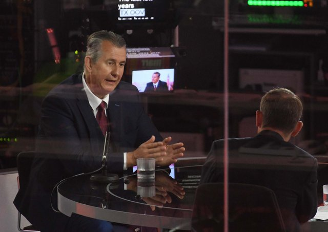 Edwin Poots travelled to London to be interviewed by Andrew Marr – but didn't say much that was new