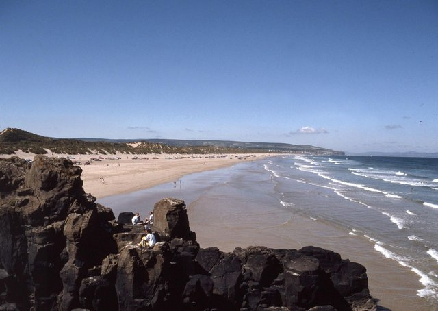 The magnificent strand at Portstewart