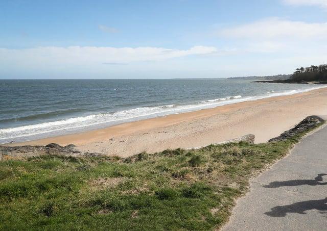 General view of Helens Bay beach in County Down, Northern Ireland.Photo by Kelvin Boyes / Press Eye.