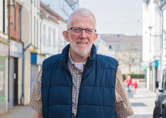Stewart Dickson MLA was diagnosed with oesophageal cancer in 2019