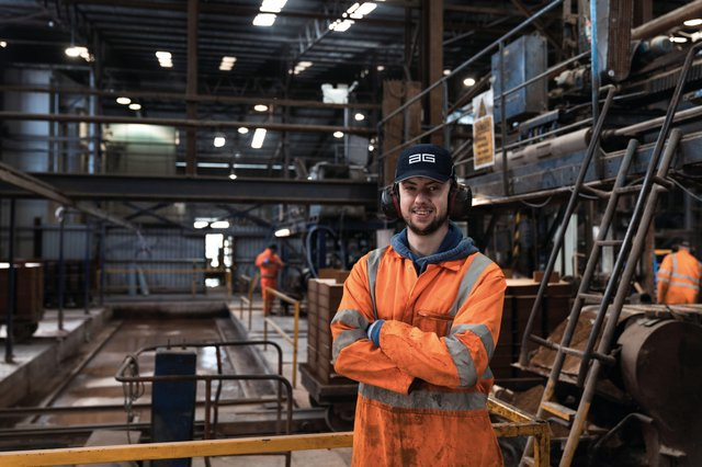 Aaron Cassidy, General Operative pictured at AG in Toome