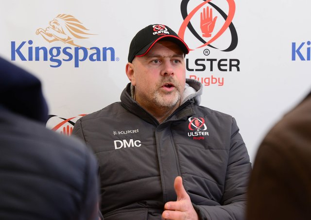 Ulster Rugby's head coach Dan McFarland has a depleted squad for the final game of the season against Edinburgh.