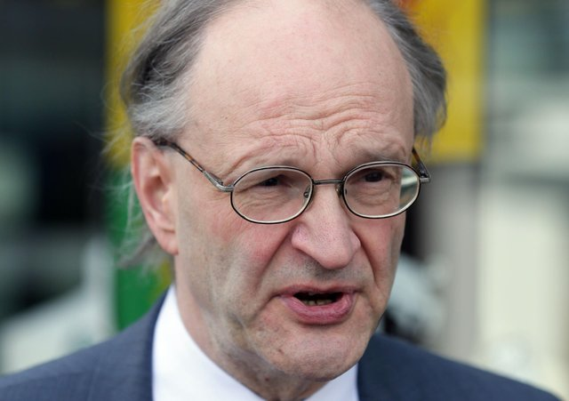 Education Minister Peter Weir said he had no objections to changing legislation. Photo Stephen Davison/Pacemaker Press
