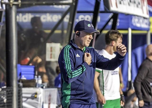Ireland men's hockey coach Mark Tumilty. Picture: Chris Wilson.