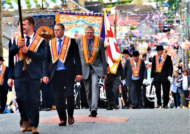 PACEMAKER BELFAST  12/07/2019 Twelfth celebrations for 2019 take place in Rathfriland