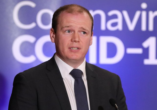 Sinn Fein said DUP Junior Minister Gordon Lyons did not attend a scheduled north-south ministerial meeting