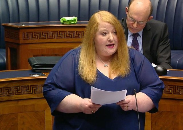 Justice Minister Naomi Long speaks out on DUP's ties to loyalists