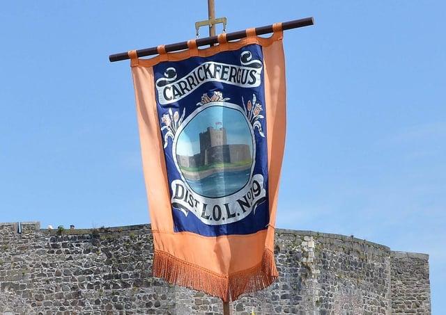 Carrickfergus District LOL No19 (stock image).