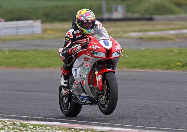 Davey Todd on the Wilson Craig Honda Supersport machine.