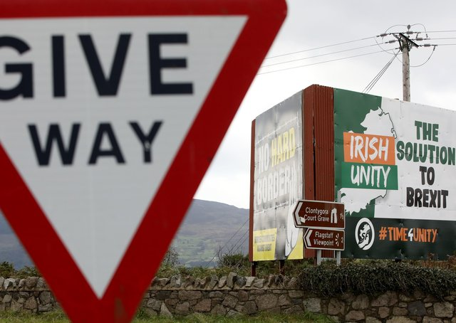 Not only would Irish unity not be simple – even holding a border poll would be remarkably complex. Photo: Paul Faith/AFP via Getty