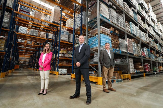 Kiera Campbell, Sales Director, Cathal Geoghegan, Managing Director and Mark Stewart-Maunder, Commercial and Development Director