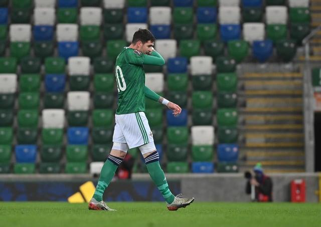 Northern Ireland's Kyle Lafferty.