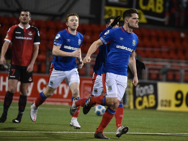 Jimmy Callacher has agreed a contract extension with Linfield