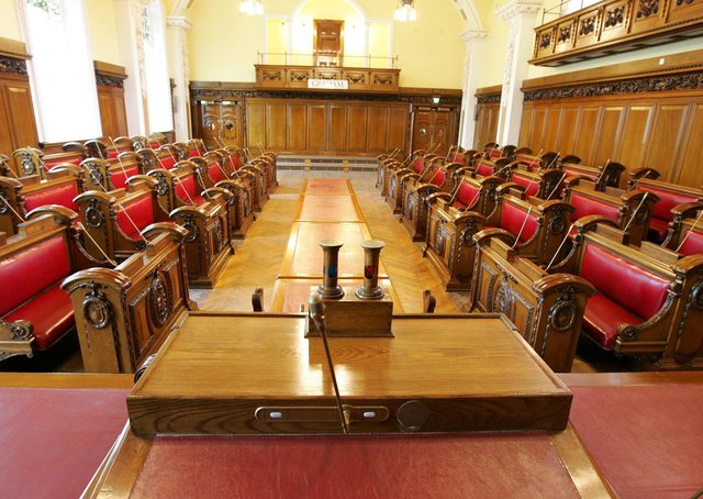 Belfast City Council, which passed a motion to ask the Irish and UK governments to expel Israeli ambassadors