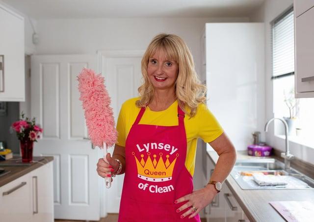 TV's queen of clean Lynsey Crombie
