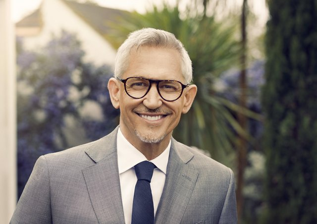 Gary Lineker wearing glasses from the Lineker Edit, available at Vision Express