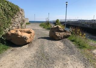The right of way in Glenarm
