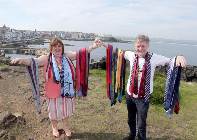 The Mayor of Causeway Coast and Glens Borough Council Alderman Mark Fielding is now preparing to hand over the chain of office, and pack away his colourful tie collection, as his term comes to an end.