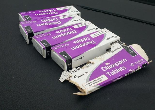 Diazepam tablets