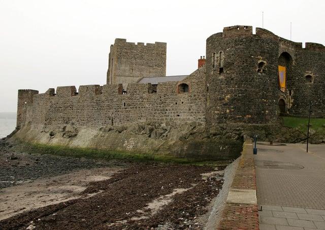 Carrickfergus Castle. Picture: Brian Little/News Letter archives