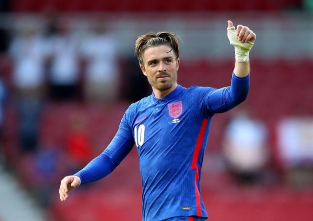 England's Jack Grealish. Pic by PA.