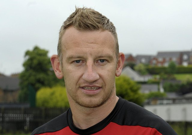 Stuart King during his time as Banbridge Town manager. Pic by Edward Byrne.