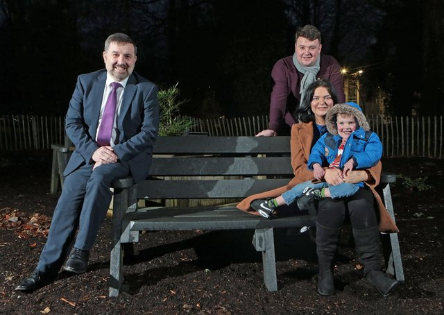 The Mac Gabhann family met with Health Minister Robin Swann in December to urge him to introduce legislation for an 'opt out' organ donation system