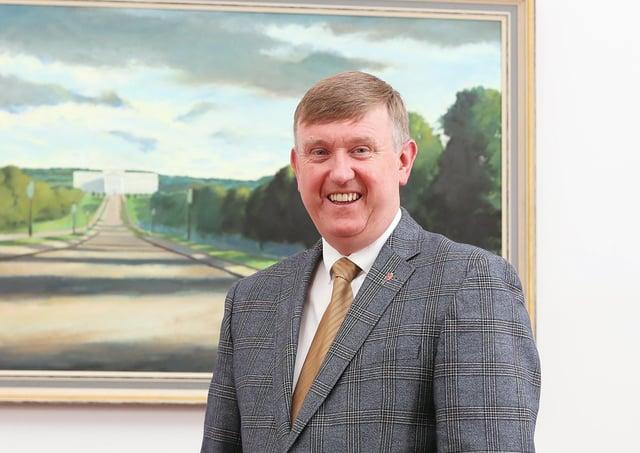 New chair of Justice Committee. Mervyn Storey MLA. Picture: Jonathan Porter/PressEye